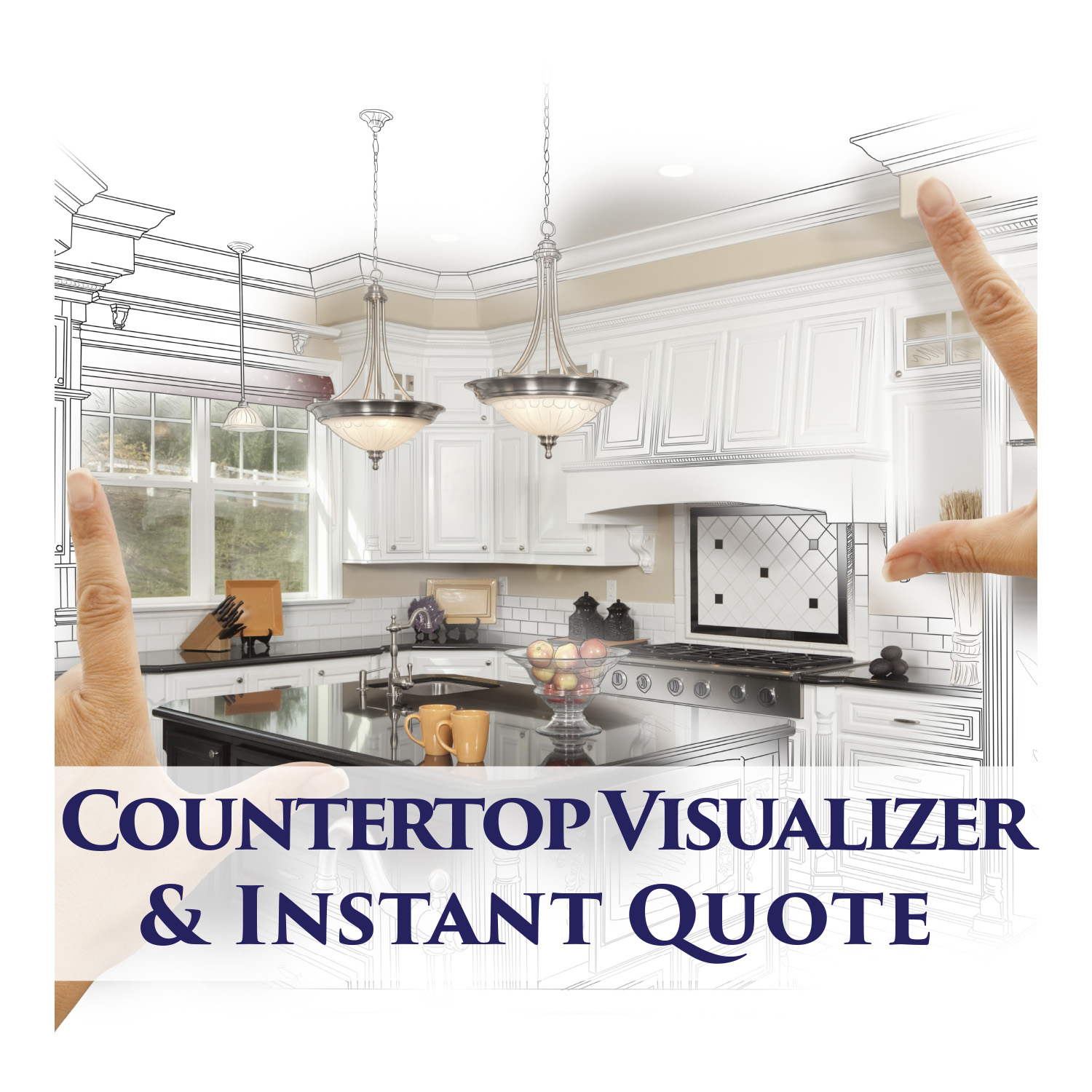 Countertop Visualizer and Instant Quote