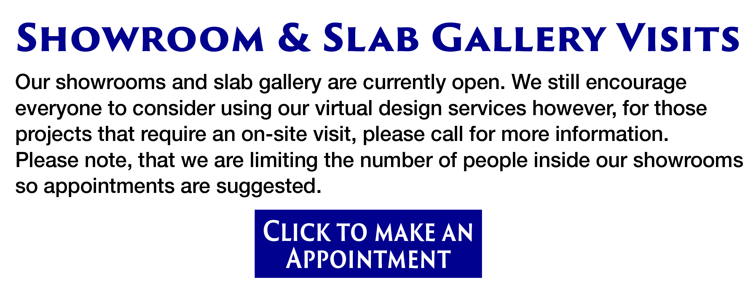 Showroom & Slab Gallery Visits