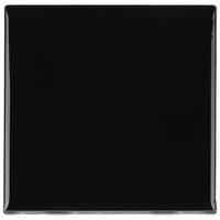 Tile Luxe Bright & Matte 4x4 Black